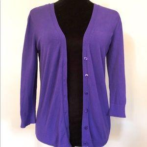 Purple Power Cardigan